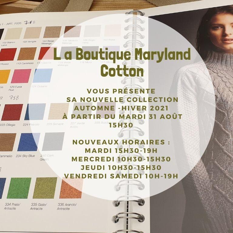 boutique Maryland Cotton